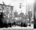 Faculty of Vashon College, First Term, 1892