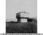 1860 blockhouse on Crockett farm, near Fort Casey, Whidbey Island, 1900