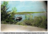 Car ferry at dock, Dockton, n.d.