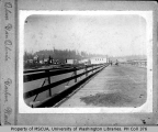 View of pier, Bremerton, 1893