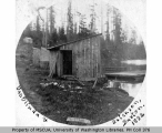 Building near water, Burton, Vashon Island, 1892
