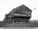 1857 blockhouse at Ebey's prairie, Whidbey Island, 1900