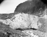 Mouth of the Carbon Glacier, north slope of Mount Rainier, July 18, 1897