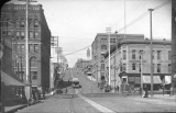 Eleventh Street, west from corner of Pacific Avenue, Tacoma, July 19, 1893