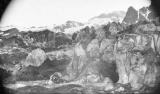 Ice pinnacles on North Tahoma Glacier, west slope of Mount Rainier, July 22, 1897