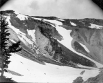 North Mowich Glacier, northwest slope of Mount Rainier, July 20, 1897