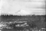 View of Mount Rainier, looking southeast from corner of J and 27th Streets, Tacoma, February 16,...