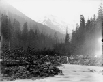 View of Mount Baker from Little Beaver Creek, August 9, 1894