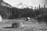 South peak of Mount Rainier from Longmire Springs, August 15, 1893