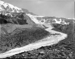 Looking north up Nisqually Glacier, August 4, 1895