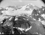 Looking northeast up Tahoma Glacier, July 21, 1897