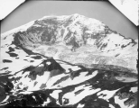Northern slope of Mount Rainier viewed from Moraine Park, July 19, 1897