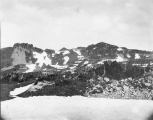 Fay Peak seen from Spray Park, northwest of Mount Rainier, July 20, 1897