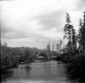 Black River from the wagon bridge, looking upstream, Gate City, September 27, 1898