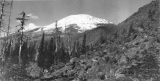 Snow covered mountain between Olympia and Centralia, September 25, 1898
