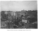 Seattle, looking northeast from 3rd Ave. and Columbia St., n.d.