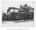 Randolph family house exterior, First Hill neighborhood, Seattle, n.d.