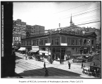 2nd Ave. and Columbia St., northeast corner, Seattle, April, 1906