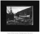 Colman Dock showing several boats moored in vicinity, Seattle, n.d.
