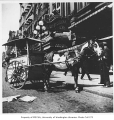Horse drawn carriage used by the U.S. postal service, Seattle, n.d.