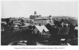 Looking southwest toward the First Hill neighborhood, showing Providence Hospital and Central...