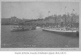 Seattle waterfront, looking northeast from Washington St., showing steamers CITY OF SEATTLE and...