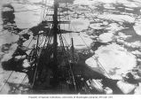 Ice floes as seen from aboard the Coast Guard cutter BEAR, ca. 1899