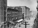 1st Ave. looking north from Cherry St., Seattle, ca. 1906