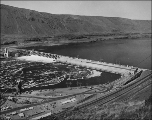 John Day Dam on the Columbia River, Washington, 1968