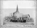 First Presbyterian Church, Waitsburg, Washington, ca. 1893