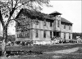 School in Black Diamond, Washington, 1909