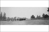 Military drill, Fort Vancouver, ca. 1885