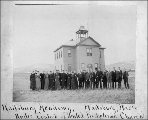 Waitsburg Academy, Waitsburg, Washington, ca. 1893