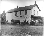 Martin &  Jensen store, Friday Harbor, San Juan Island, Washington, ca. 1906