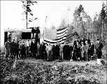 Ground breaking ceremony, Port Townsend, Washington, 1928