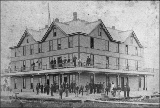 Hotel at Ocosta, Washington, ca. 1894