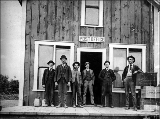 Portage post office, Vashon Island, Washington, July 1903