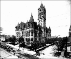 Pierce County courthouse, Tacoma, Washington, ca. 1895