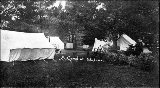 Camping at Tokeland, Washington, ca. 1908