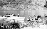 Boat landing at Lucerne, west shore of Lake Chelan, Washington, ca. 1925