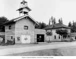 City hall and fire department,  Eatonville, ca. 1942