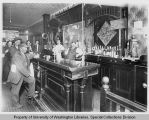 Interior of saloon, Everett, 1907
