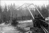 Bridge across south fork of the Nooksack River, Washington, 1897