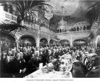 Banquet for excursion members in the Davenport Hotel, Spokane, September 1908