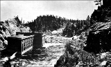 Long Lake Dam, Spokane River, Washington, 1916