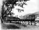 Qui Si Sana Sanatorium and Biological Institution boat dock, Lake Crescent, 1913.
