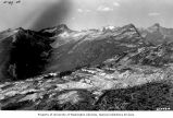 Picket Range from Sourdough Ridge, North Cascades National Park, Washington, 1926
