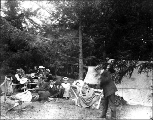 Camping trip, Coupeville, Whidbey Island, Washington, ca. 1900