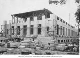 Construction progress on Insurance Building, Washington State Capitol complex, Olympia, July 21,...