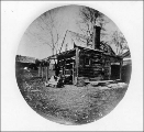Early structure at Fort Nisqually, Washington, ca. 1870
